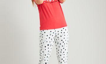 Disney 101 Dalmatians Red Pyjamas