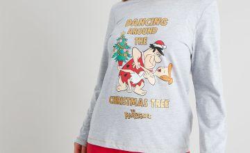 Christmas The Flintstones Grey Pyjamas