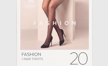 Black Sparkly Fashion Tights