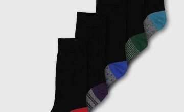 Stripe & Spot Stay Fresh Socks 5 Pack