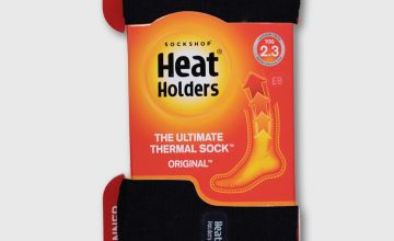 SOCK SHOP HEAT HOLDERS Navy Thermal Socks - 6-11