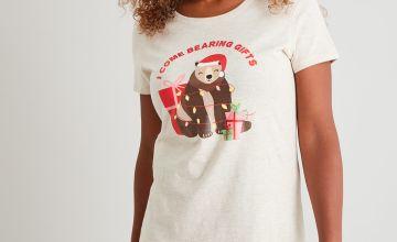 Christmas 'Bearing Gifts' Pyjamas