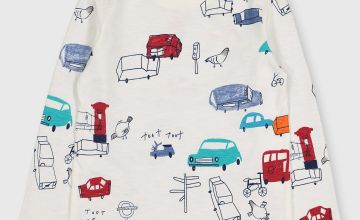 London Car Print T-Shirt