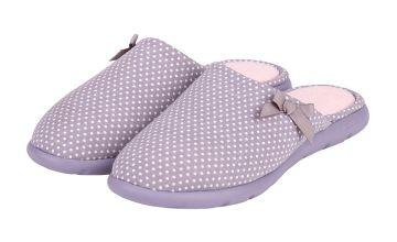 Grey Spot i-flex Pillowstep Mule Slippers