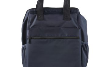 Navy Backpack Changing Bag - One Size