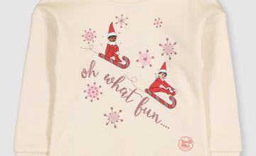 Christmas Cream Elf On The Shelf Sweatshirt