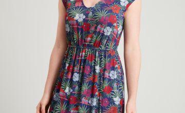 PETITE Parrot Print Maxi Dress