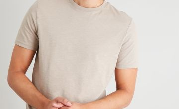 Stone Cotton Slub Tall Fit T-Shirt