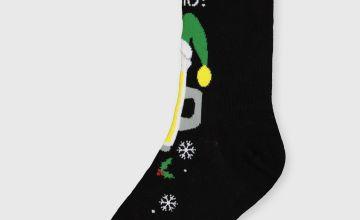 Christmas Cheers Pint Ankle Socks - 6-11