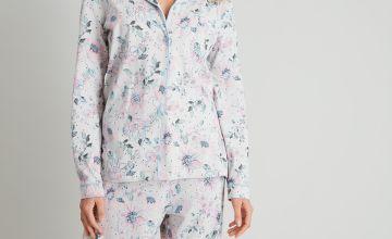 Floral Print Traditional Cotton Pyjamas