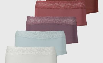 Comfort Lace Full Knickers 5 Pack