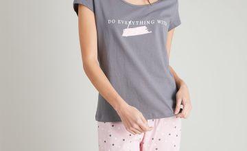 Grey Spotted Pyjamas