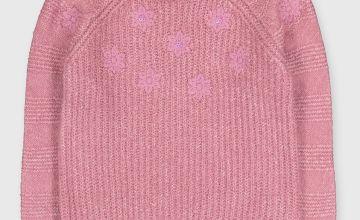 Pink Floral Jumper