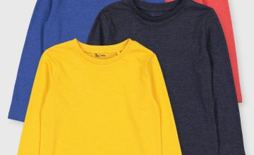 Brights Long Sleeve Tops 4 Pack