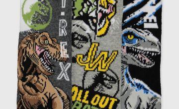 Jurassic World Socks 3 Pack