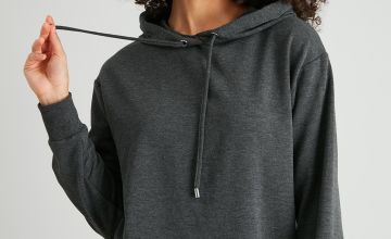 Charcoal Grey Luxe Hoodie