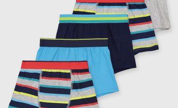 Neon Stripe Trunks 5 Pack