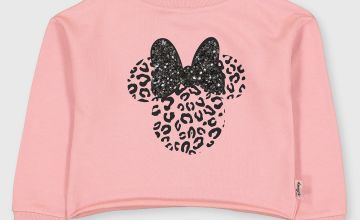 Disney Minnie Mouse Pink Sequin Sweatshirt