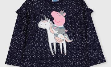 Peppa Pig Navy T-Shirt
