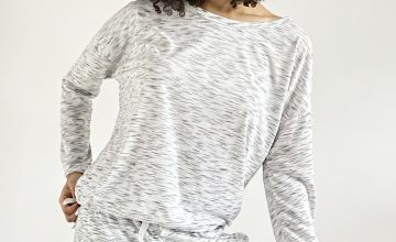 Mono Space Dye Pyjama Top