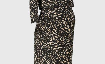 MATERNITY Animal Print Dress