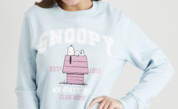 Peanuts Snoopy Blue Sweatshirt