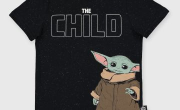 Star Wars Baby Yoda Black T-Shirt
