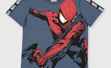 Marvel Spider-Man Blue T-Shirt