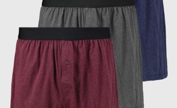 Marl Jersey Boxers 3 Pack