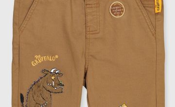The Gruffalo Brown Belted Chino Shorts