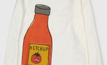 Ketchup Bottle Interactive T-Shirt