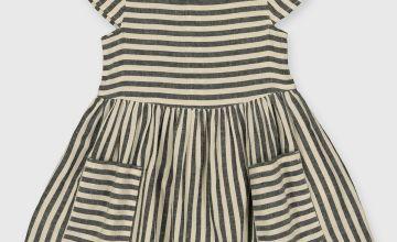 Stripe Woven Dress