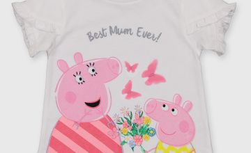 Peppa Pig 'Best Mum Ever' T-Shirt