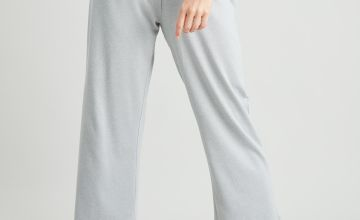 Rainbow Waist Grey Culotte Pyjama Bottoms