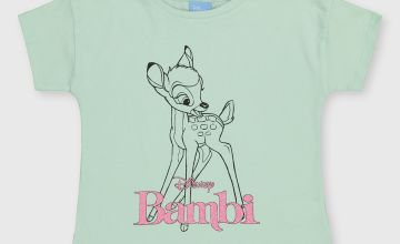 Disney Bambi Green T-Shirt