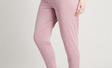 MATERNITY Active Pink Overbump Cupro Joggers