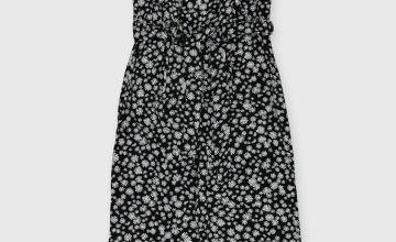 Floral Jumpsuit & T-Shirt Set