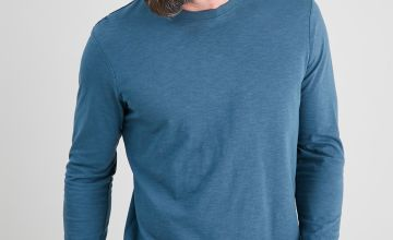 Teal Long Sleeve T-Shirt