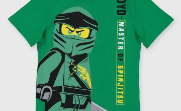 Lego Ninjago Green Lloyd T-Shirt