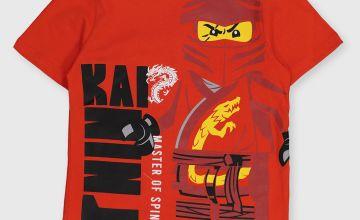 Lego Red Ninjago T-Shirt