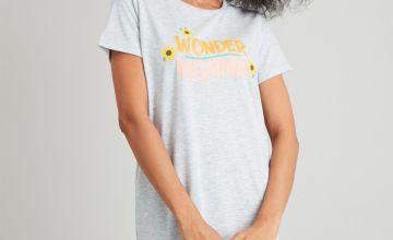 Grey 'Wonder Mumma' Nightdress