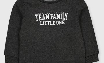 Family Dressing Grey 'Little One' Sweatshirt