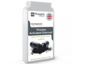 £8.99 instead of £29.99 (from Prowsie) for a two-month supply* of activated charcoal capsules - save 70%