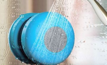 £7.99 instead of £26 (from Magic Trend) for a water-resistant Bluetooth shower speaker - save 69%