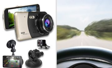 £19.99 instead of £79.99 (from Maxwe) for a Next Generation HD front and rear dash cam, £29.99 for a dashcam with 16GB SD card or £34 for a dashcam with 32GB SD card- save up to 78%