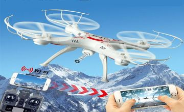 £27.99 instead of £149.99 for a 360 degree quadcopter drone with live HD camera from Impress Gadgets - save 81%