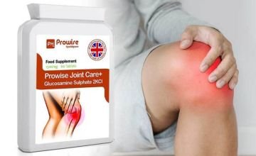 £14 (from Prowise) for a two-month* supply of Prowise Joint Care+ supplements!