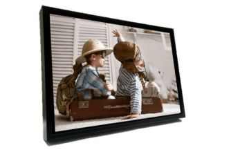 £15 instead of £49.99 for an A2 personalised black floating frame canvas from Fab Deco Ltd - Deco Matters - save 70%