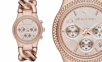 £119 (from Ticara Watches) for a ladies rose gold twist MK3247 Michael Kors watch