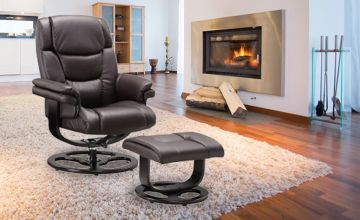 £179 instead of £499.99 (from GRS Global) for a recliner chair and foot stool - save 64%